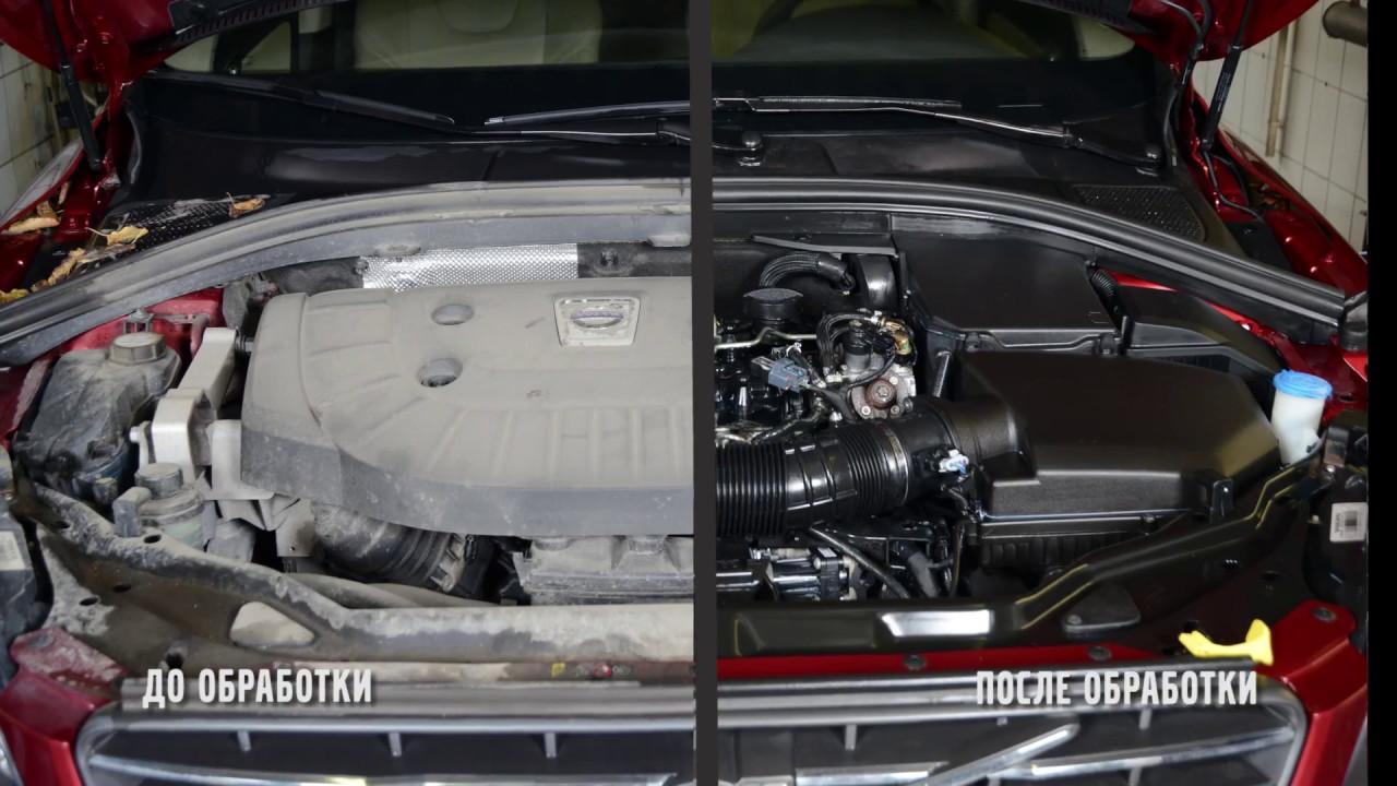 Детейлин двигателя